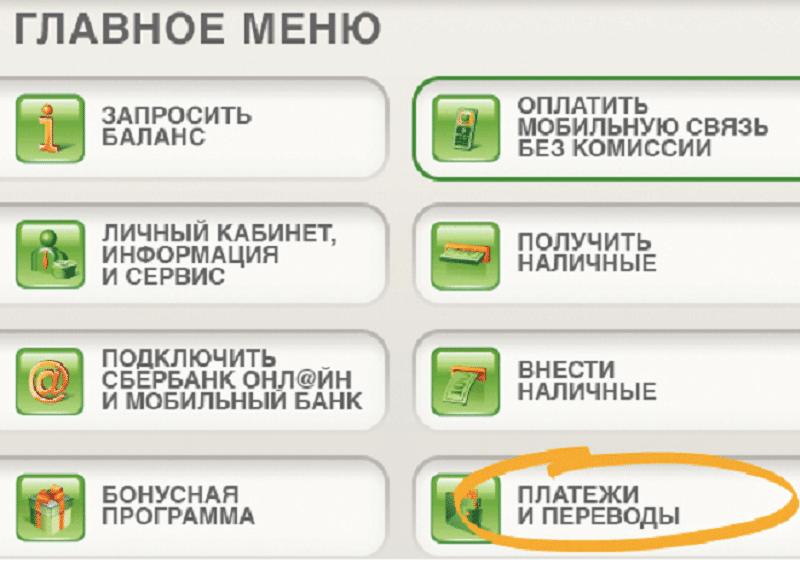 перевод с карты Сбербанка на карту ВТБ24