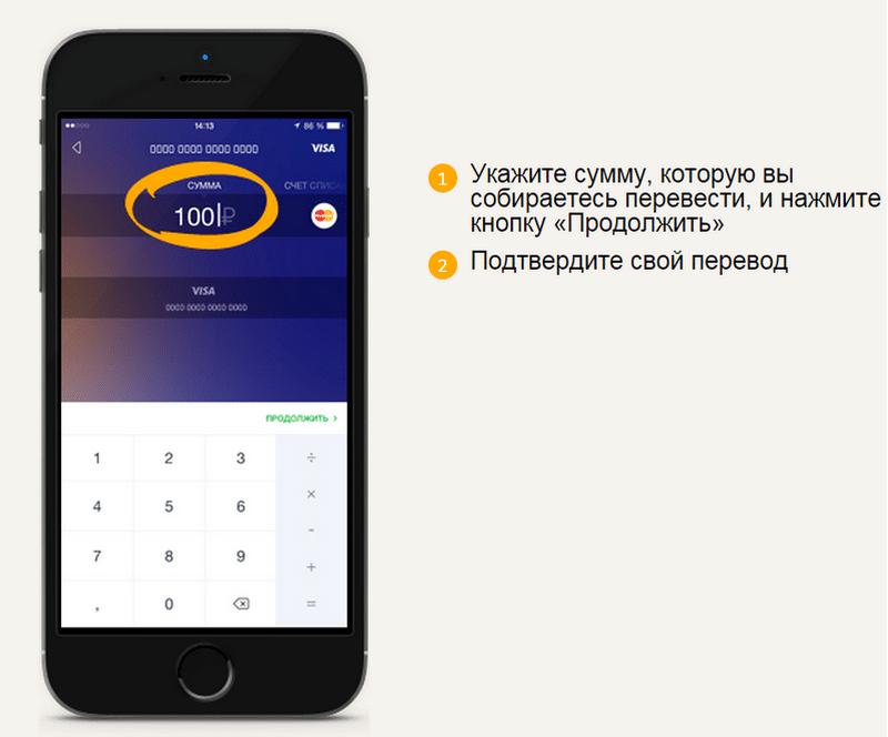 Как перевести с телефона деньги на карту