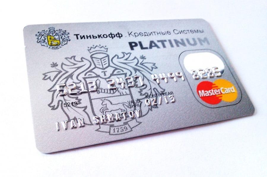 Кредитные карты Тинькофф банка