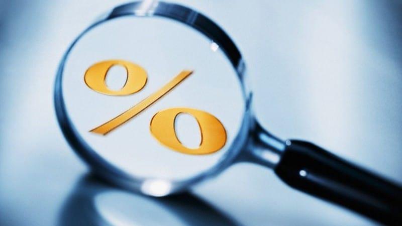 как рассчитывается банковский процент по кредиту