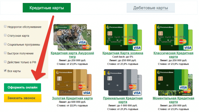 kreditnye karty rosselxozbanka5 e1474145136582 - Кредитная карта Россельхозбанка: условия