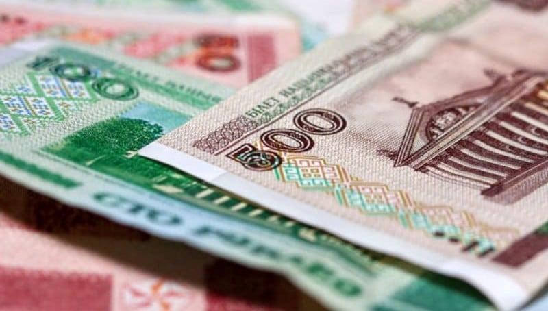 1000 рублей России на Белорусские рубли