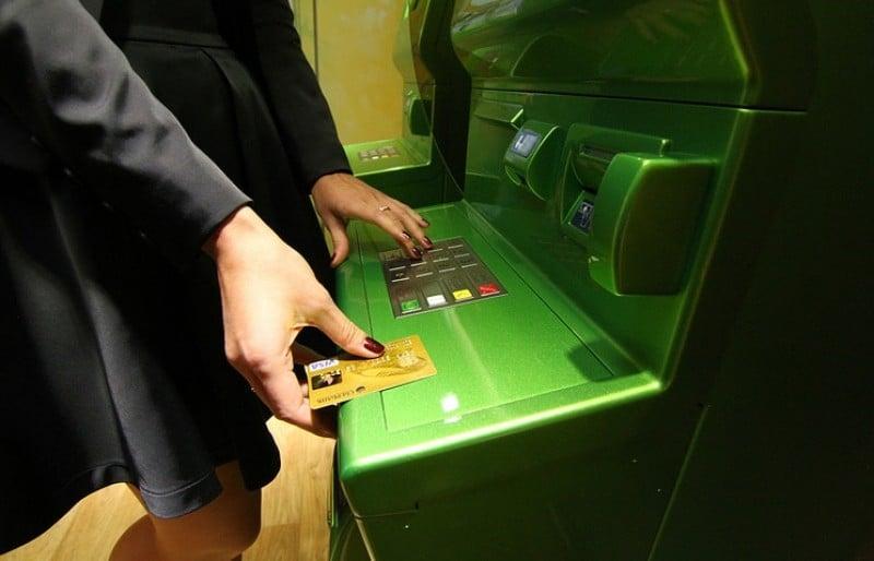 как снять деньги если карта заблокирована Сбербанк