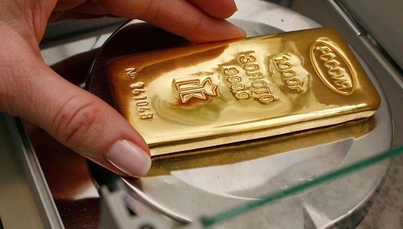 вклад в Сбербанке золотом
