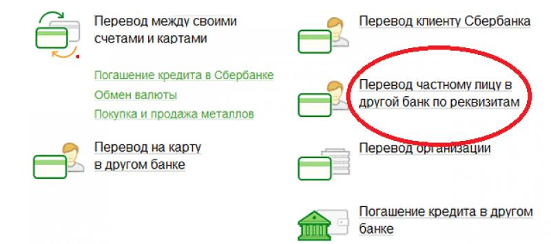 Как сделать перевод между картами сбербанка на телефон