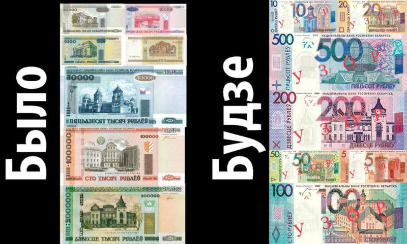 деноминация белорусского рубля в 2016 году