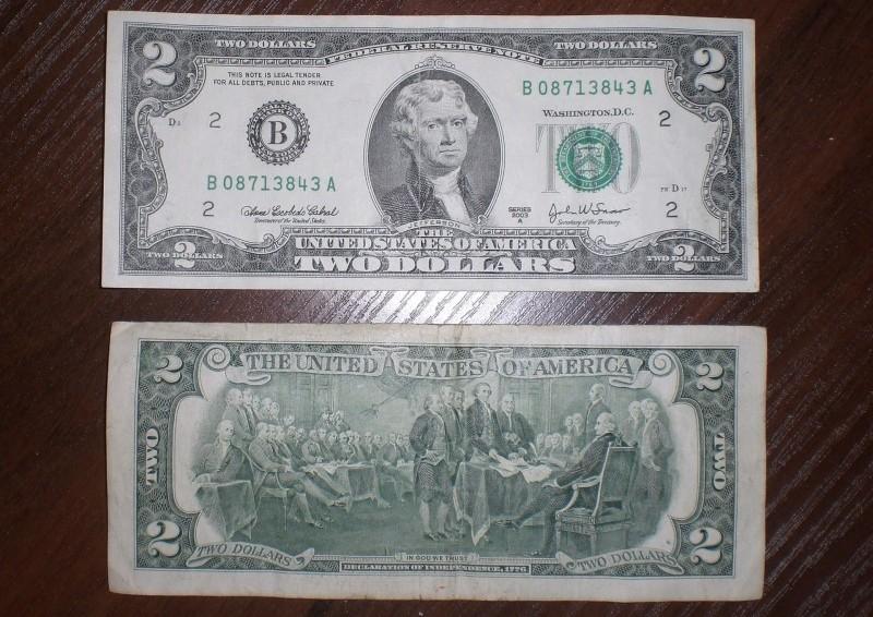 номиналы долларовых купюр