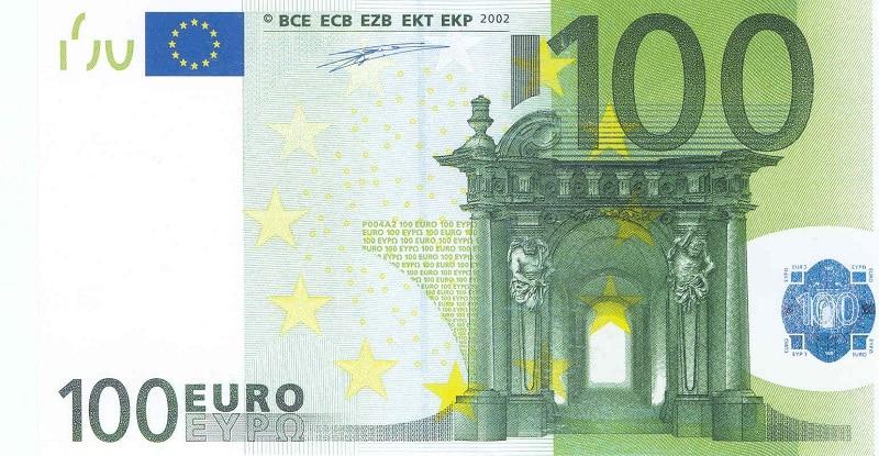 фото купюры 100 Евро