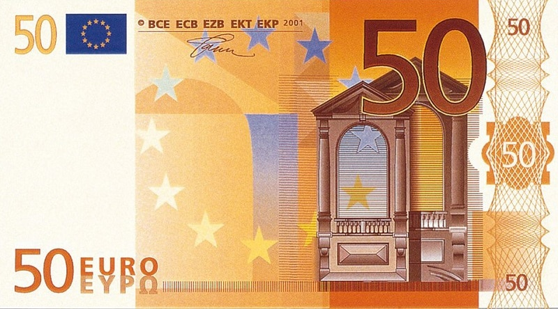 фото купюры 500 Евро