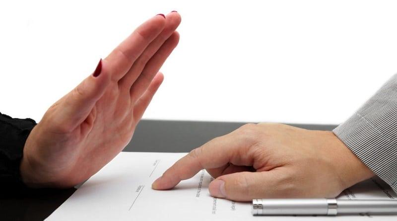Отказ от страховки после получения кредита. образец отказа.
