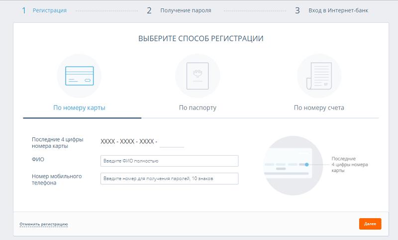 Абсолют Банк онлайн личный кабинет