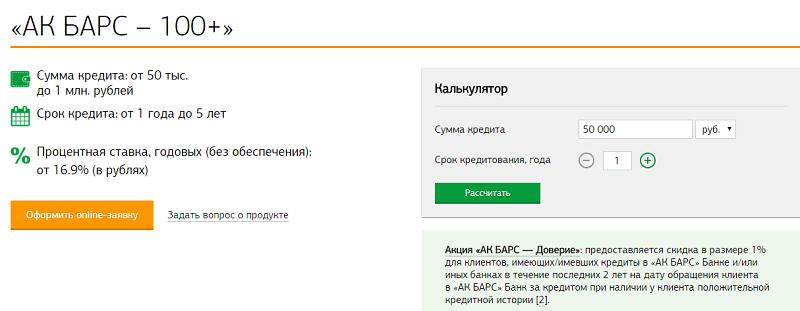рефинансирование кредита банка Ак Барс