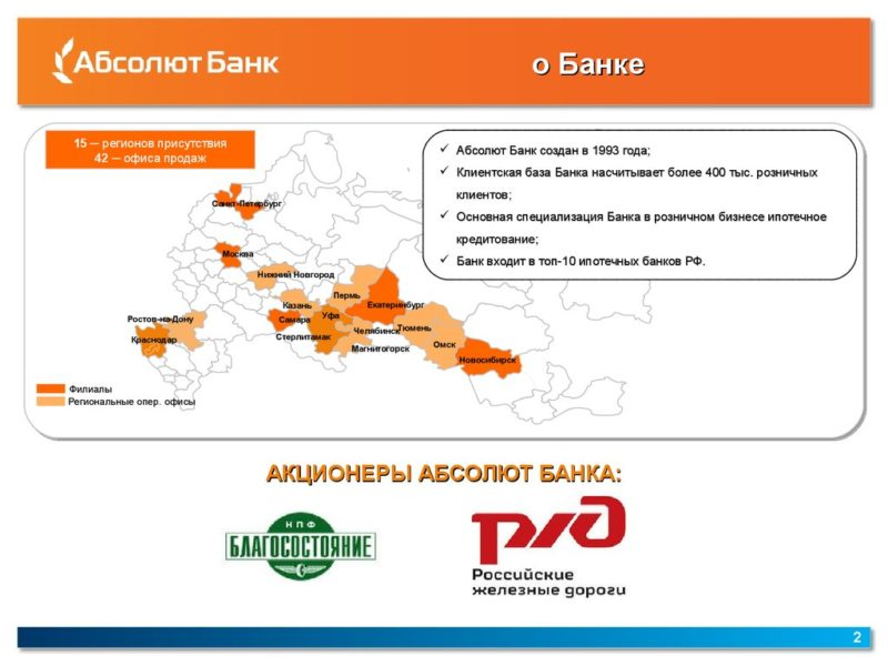 Абсолют Банк Санкт-Петербург официальный сайт