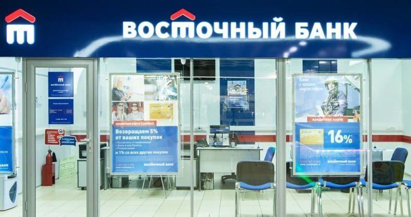 банк Восточный Экспресс рефинансирование кредитов других банков