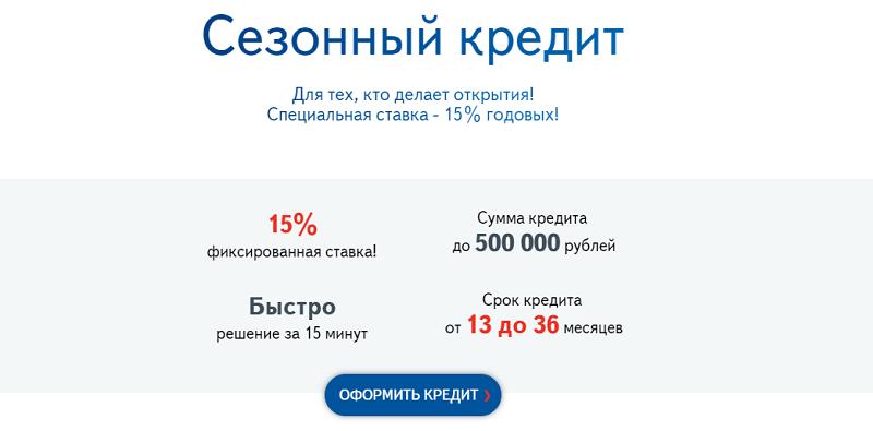 потребительский кредит банка Юниаструм