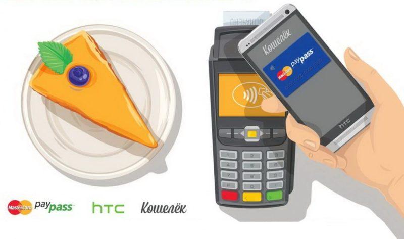 оплата мобильным телефоном вместо карты