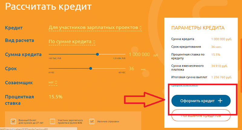 потребительский кредит Глобэкс банка