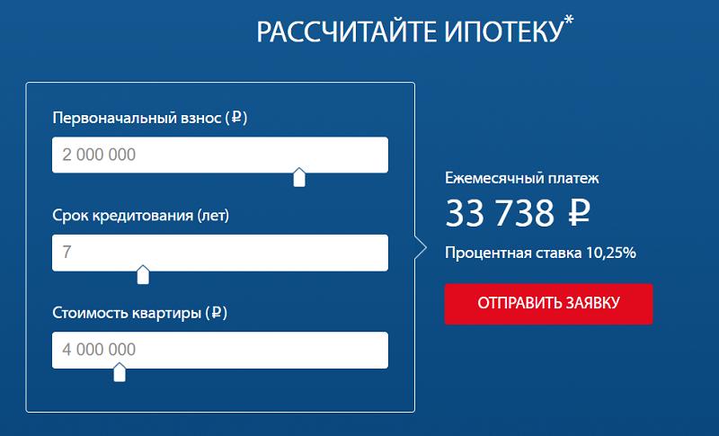 рефинансирование ипотеки Газпромбанк