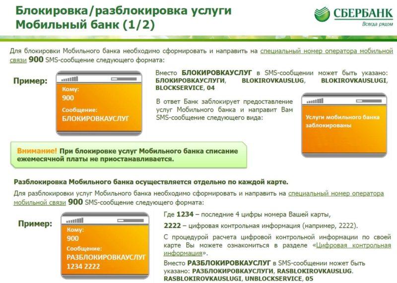 как узнать заблокирована ли карта Сбербанка через интернет