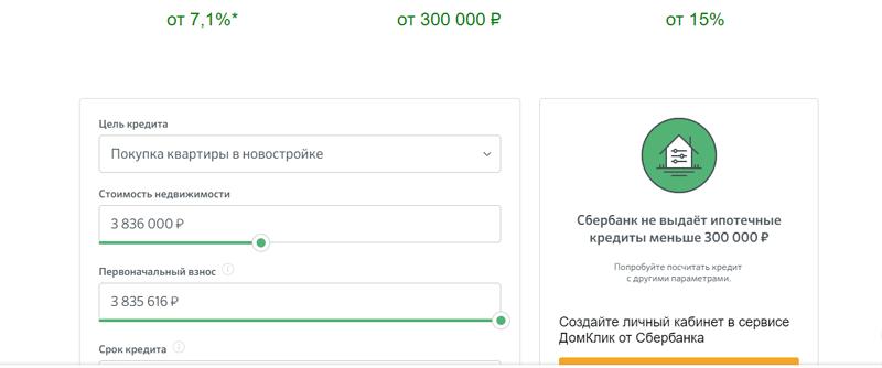 Когда лучше брать кредит в Сбербанке