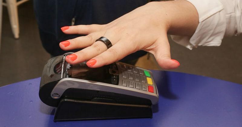Кольцо бесконтактной оплаты Альфа-Банка