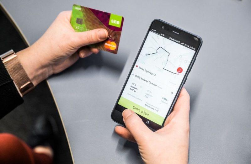 такси по кредитной карте