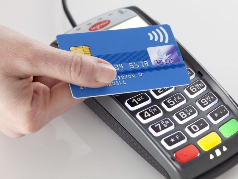 оплата такси кредитной картой