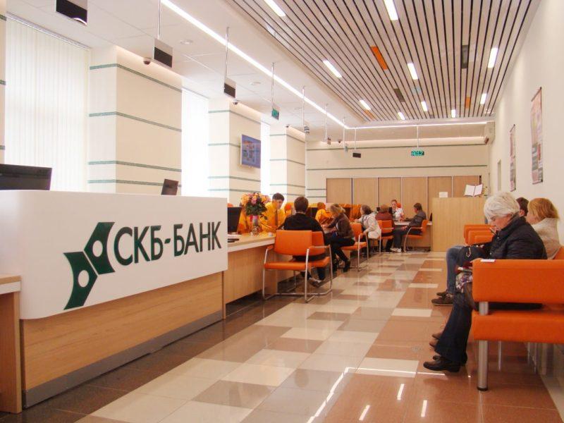 банки-партнеры СКБ банка, где можно снять деньги без комиссии