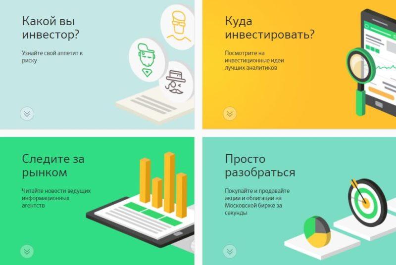 инвестиционные программы Сбербанка