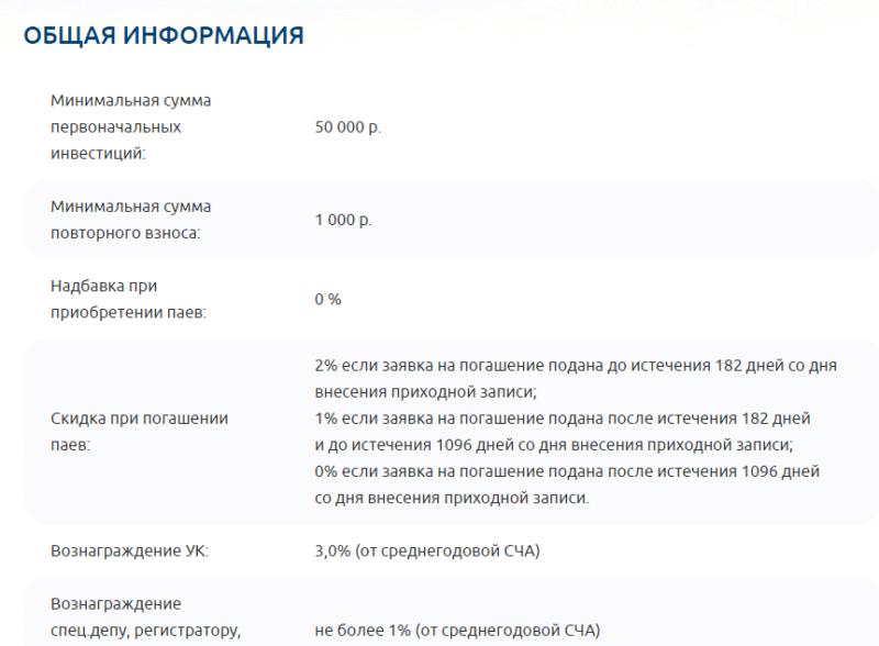 ПИФ Газпромбанк Сбалансированный